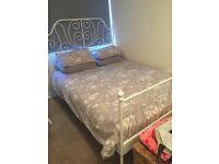 Ikea leirvik kingize bed frame
