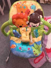 Hardly used baby bouncer