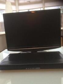 Bush 22inch HD ready LCD TV with DVD player