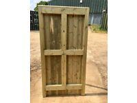 heavy duty tanalised pressure treated gate