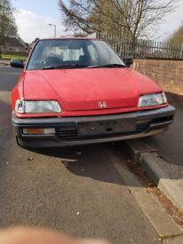 Honda civic 1991 dx a 1.4 auto