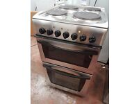 Indesit KD3E11XG 50cm ELECTRIC COOKER in Stainless steel