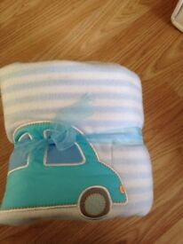 blue blanket new £4