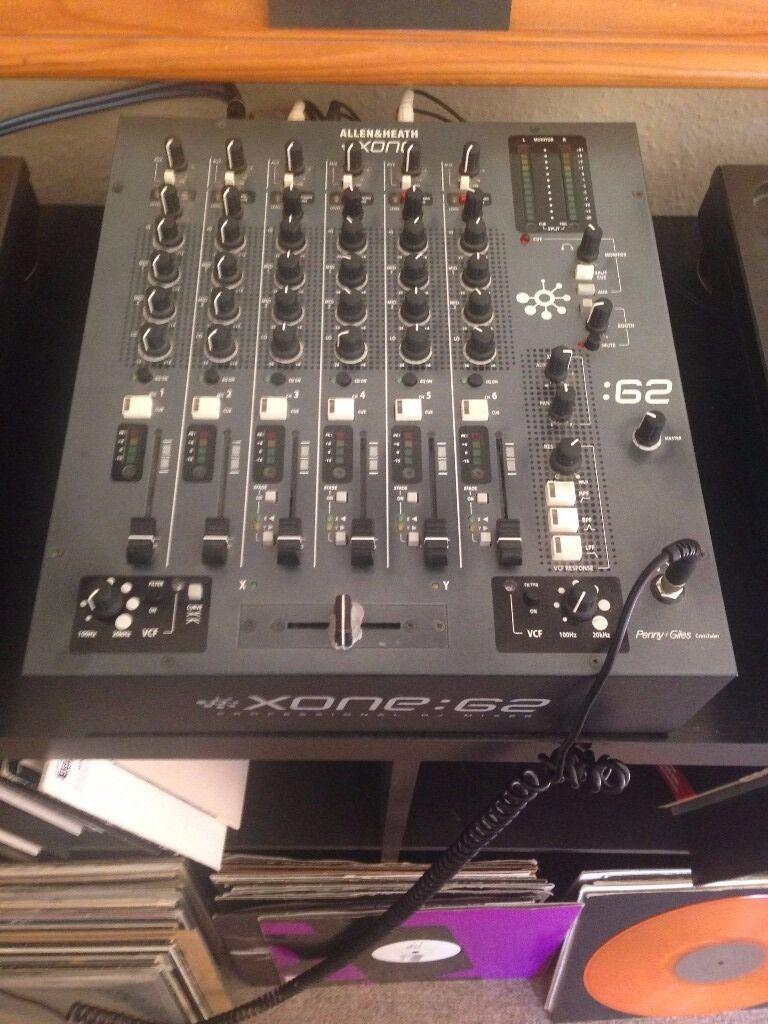 Allen & Heath Xone 62 - 6 channel professional DJ mixer | in Hackney,  London | Gumtree