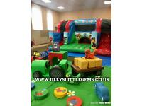 Jilly's Little Gems mobile soft play and bouncy castles