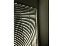 White blinds, used but great condition