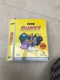 Muzzy Spanish language dvd