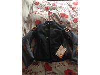 Ladies motorcycle jacket size 14 new