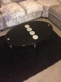 Cheap coffee table and side table