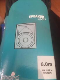 New speaker leads 6.0m 5pk plug to 5pk plug