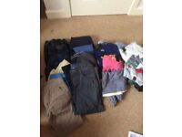 Huge bundle of boys clothes size 9-10 years