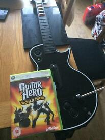 Guitar Hero World Tour plus Guitar