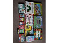 Selection of children's games/puzzels