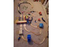 Large Wooden Train Set Bundle