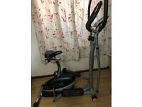 V-fit MCCT-1 combination Magnetic 2-in-1 Cycle and Elliptical Cross Trainer