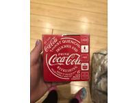 Coca Cola 6 costers