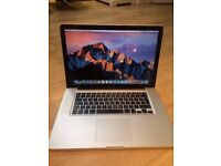 APPLE MACBOOK PRO 15INCHES 2.2GHZ i7-4GBRAM-250GB-OFFICE-LATE 2011 MODEL PLEASE CALL 07707119599