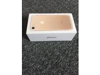 iPhone 7 Gold 128GB SEALED