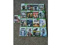COLLECTION of 17 XBOX 360