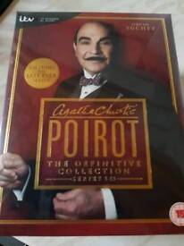 poirot box set BNIB