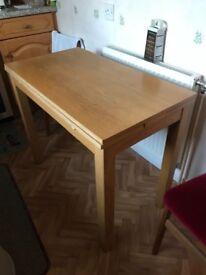 Extendable Pine Kitchen Table