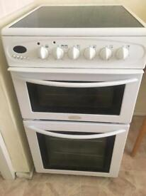 Belling freestanding cooker electric 500mm wide