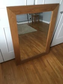 Oak Framed mirror for just £25.00