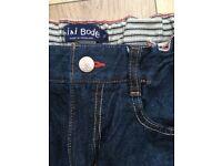 Boden Boys Dark Denium Jeans Age 12 years