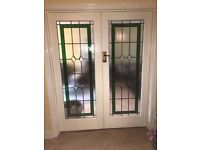 Beautiful glass doors for sale