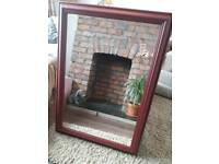 Large crandberry mirror