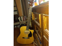 Fender fishman electric acoustic guitar