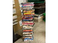 Mixture of 50 DVD's Good Condition