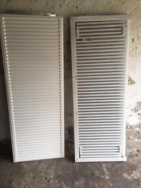 1600 x 600 K1 radiators x2