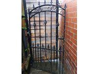 garden gate, very heavy construction