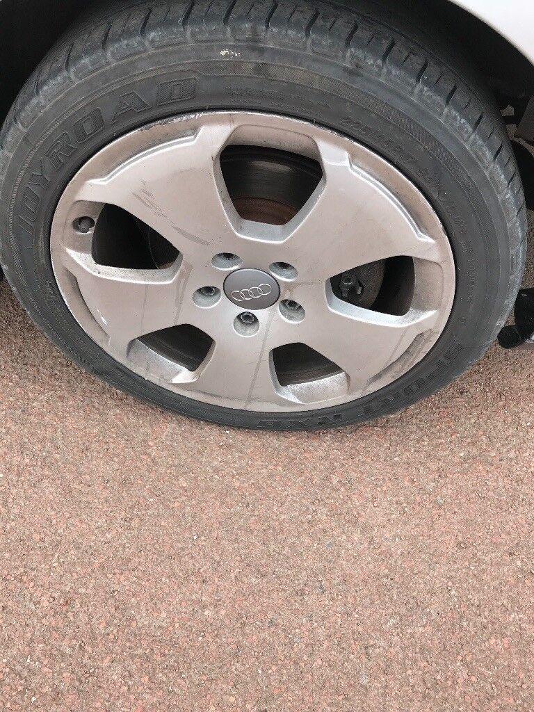 Audi golf vw alloys