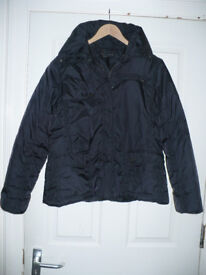 Ladies short black jacket size 18 from Dorothy Perkins. Very good condition. Hardly worn.