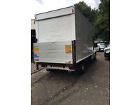24-7 large Luton man with van hire for Removals