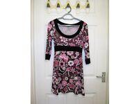 Women's hippy style tunic/ mini dress, size 10