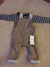 M&S boys outfit 3-6 months BNWT