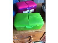 Lunch box storage box
