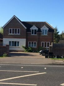 First floor two bedroom luxurious fully furnished flat with ensuite on Wokingham Road Earley Reading