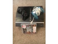 Sony PlayStation 3 ,very good condition with one game-GTA 5