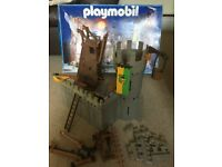 Playmobil Siege Castle, Siege Engines, Canons and Knights, Dragons, Soldiers