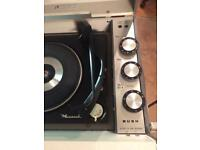 Vintage Bush Srp41 retro suitcase style record player.