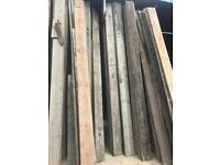 Old scaffold boards