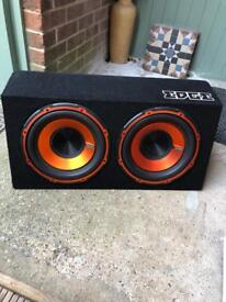 """Edge twin 12"""" subwoofer"""