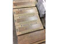 WOOD EFFECT CERAMIC FLOOR TILES 20.5 X 61.5 CM