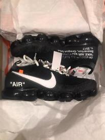 Nike off white vapor max