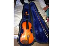 I have 2 violins and cases