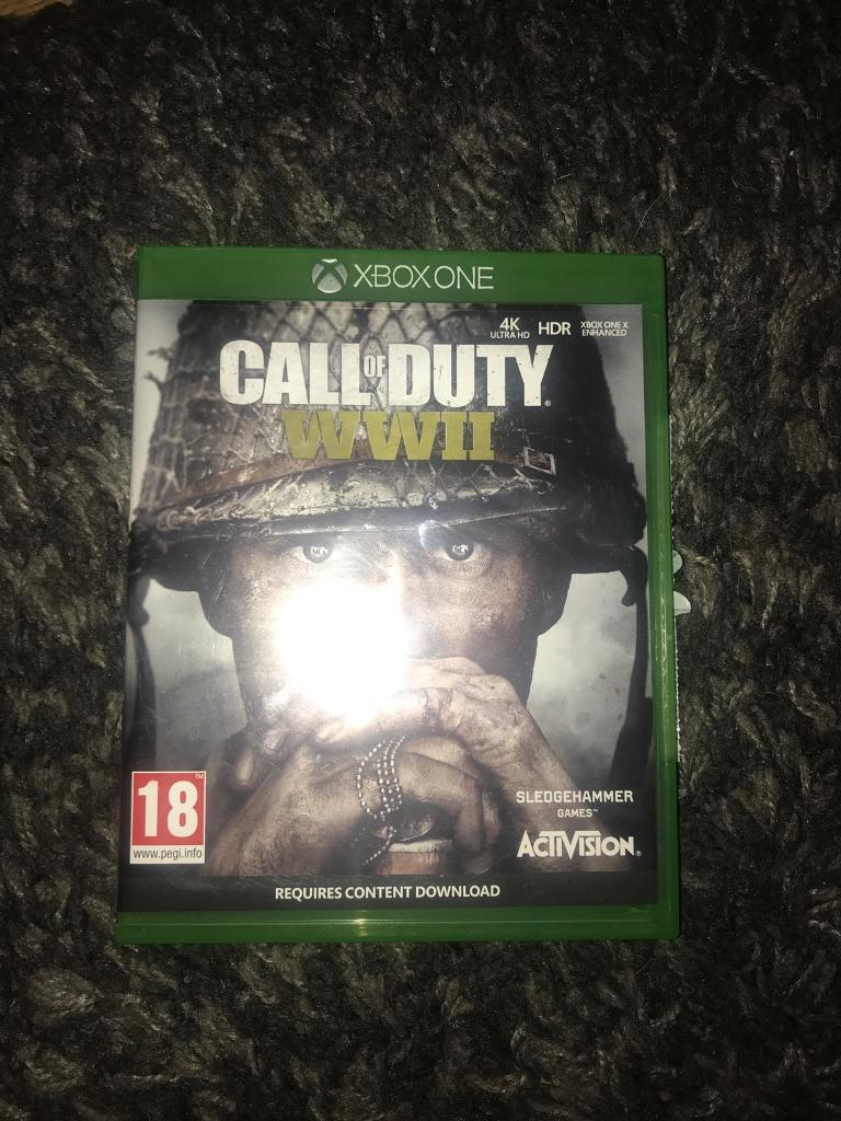 Xbox One Call Of Duty WW2 game   in Rogerstone, Newport   Gumtree